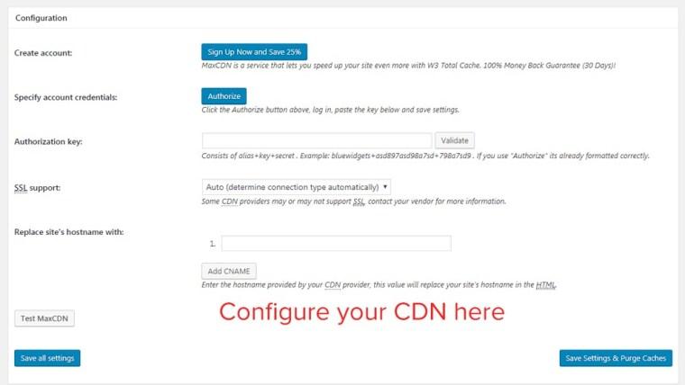 cdn configuration