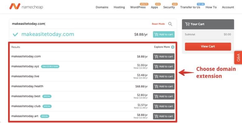 check-domain-estensione