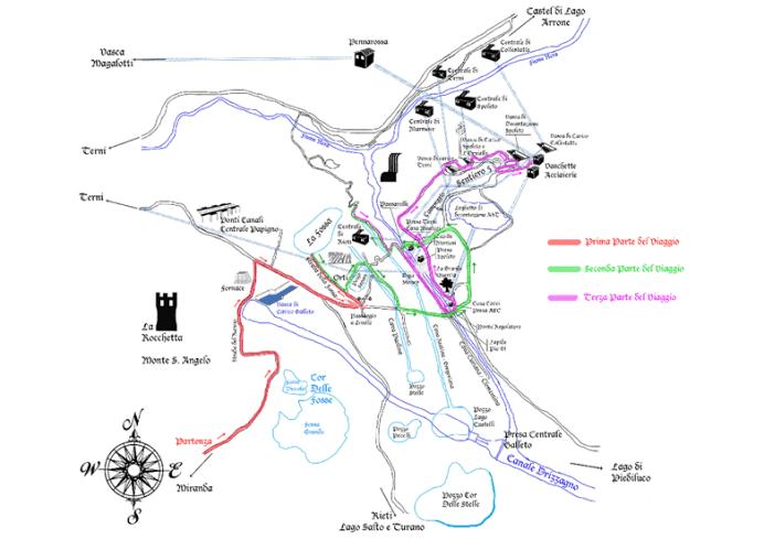 mappa archeo