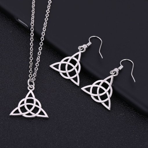 Trinity Celtic Knot Necklace
