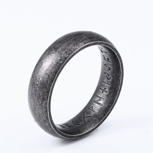 Viking Rune Ring inside