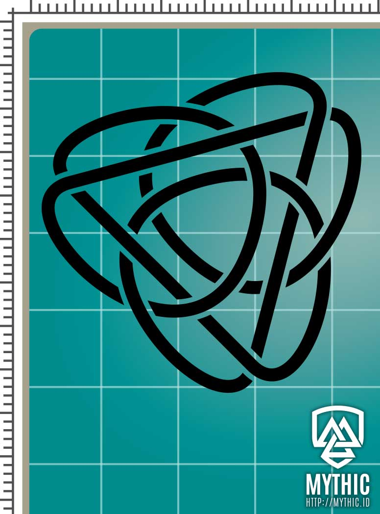 Download Celtic Knot 001 - Vector Graphic SVG - MYTHIC