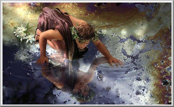 Image result for greek god narcissus images