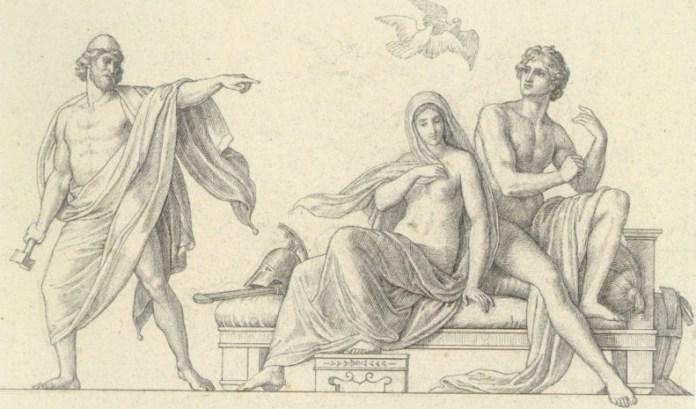 aphrodite ares and hephaestus pics
