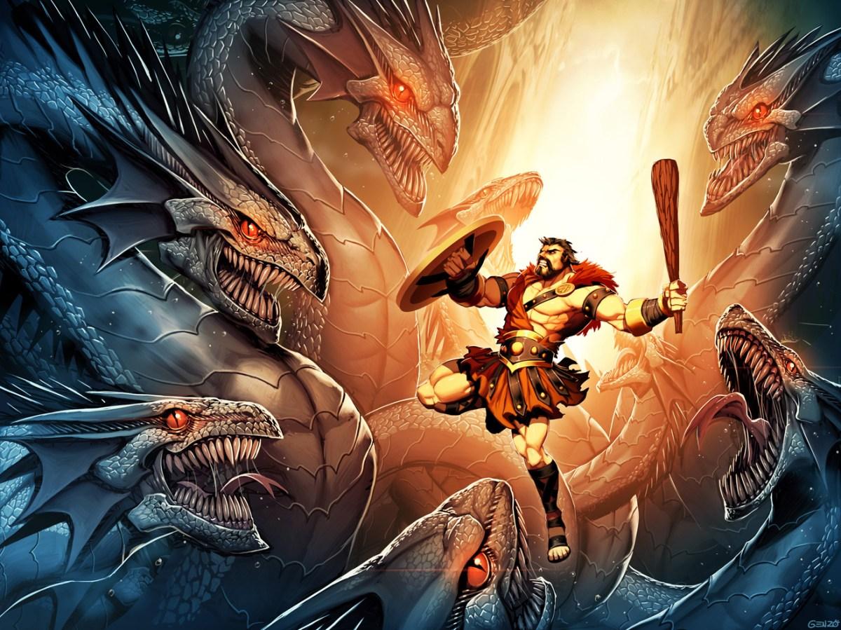 Lernean Hydra Mythical Creatures List