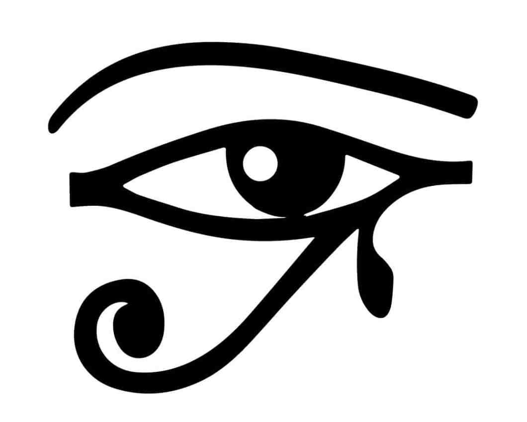 Egyptian symbol meaning image collections symbol and sign ideas egyptian symbol eye of horus decorativestyle the eye of ra re rah ancient egyptian symbol and buycottarizona