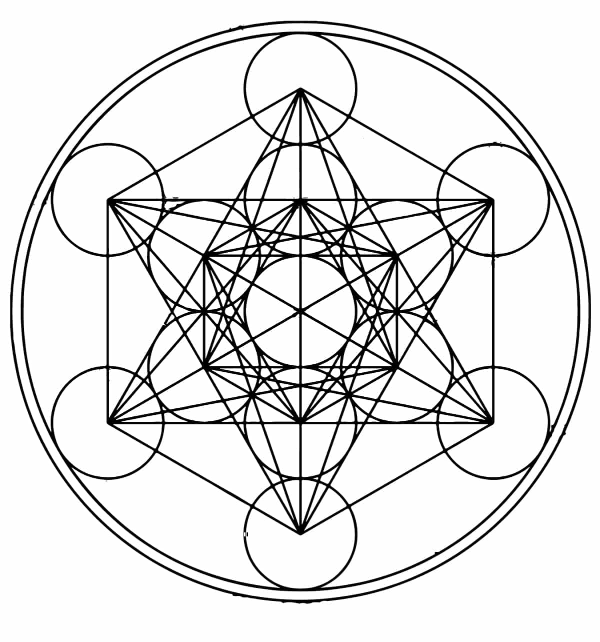 Metatron S Cube Symbol Its Origins And Meaning