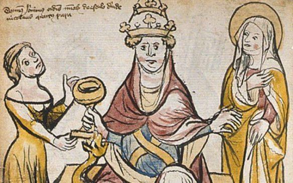 Femeile papilor si coruptia de la Vatican