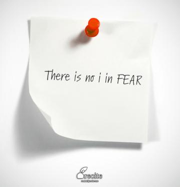 recite- no i in FEAR