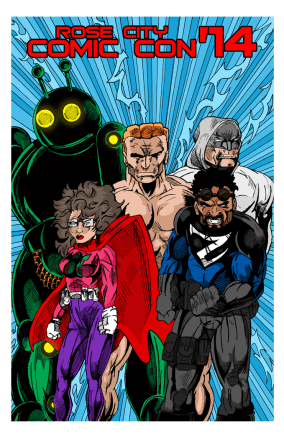 Rose City Con Poster 2014