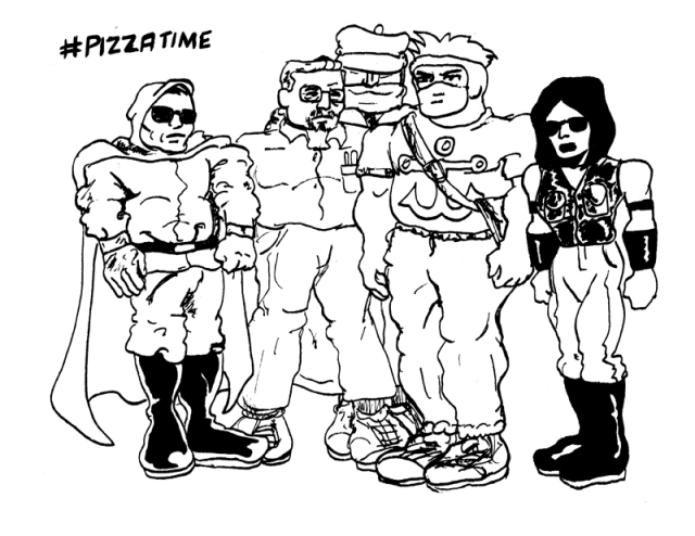 Pizza Bandits Group Picture