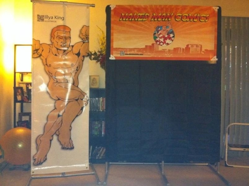 Display for Wizard World 2012