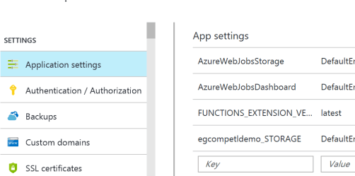 Deploying your Azure Function via ARM Template – My Thought Lab