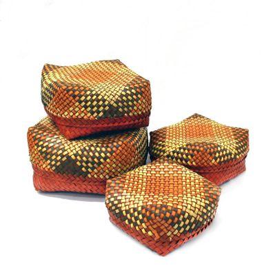 Palm leaf boxes, Kottans, multipurpose