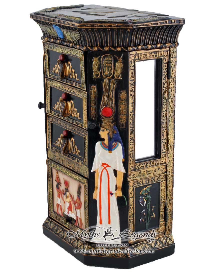 Egyptian Cabinet (Jewelry Box) - Myths & Legends Collection