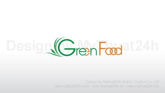 Thiết kế logo công ty TNHH Thực Phẩm Xanh