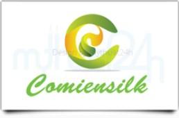 Thiết kế logo công ty Comiensilk tại Mỹ
