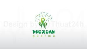 Thiết kế logo Dược Phẩm Phú Xuân