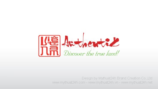 Thiet ke logo Authentik
