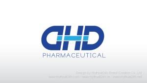 Thiet ke logo cong ty Duoc DHD