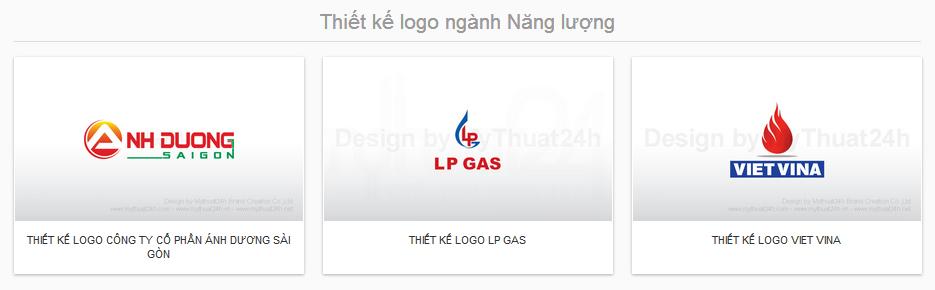Thiết kế logo ngành Năng lượng