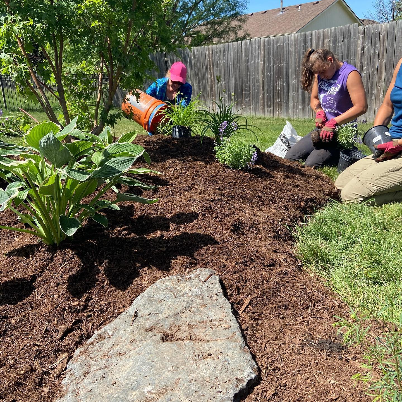 MTG Team landscaping