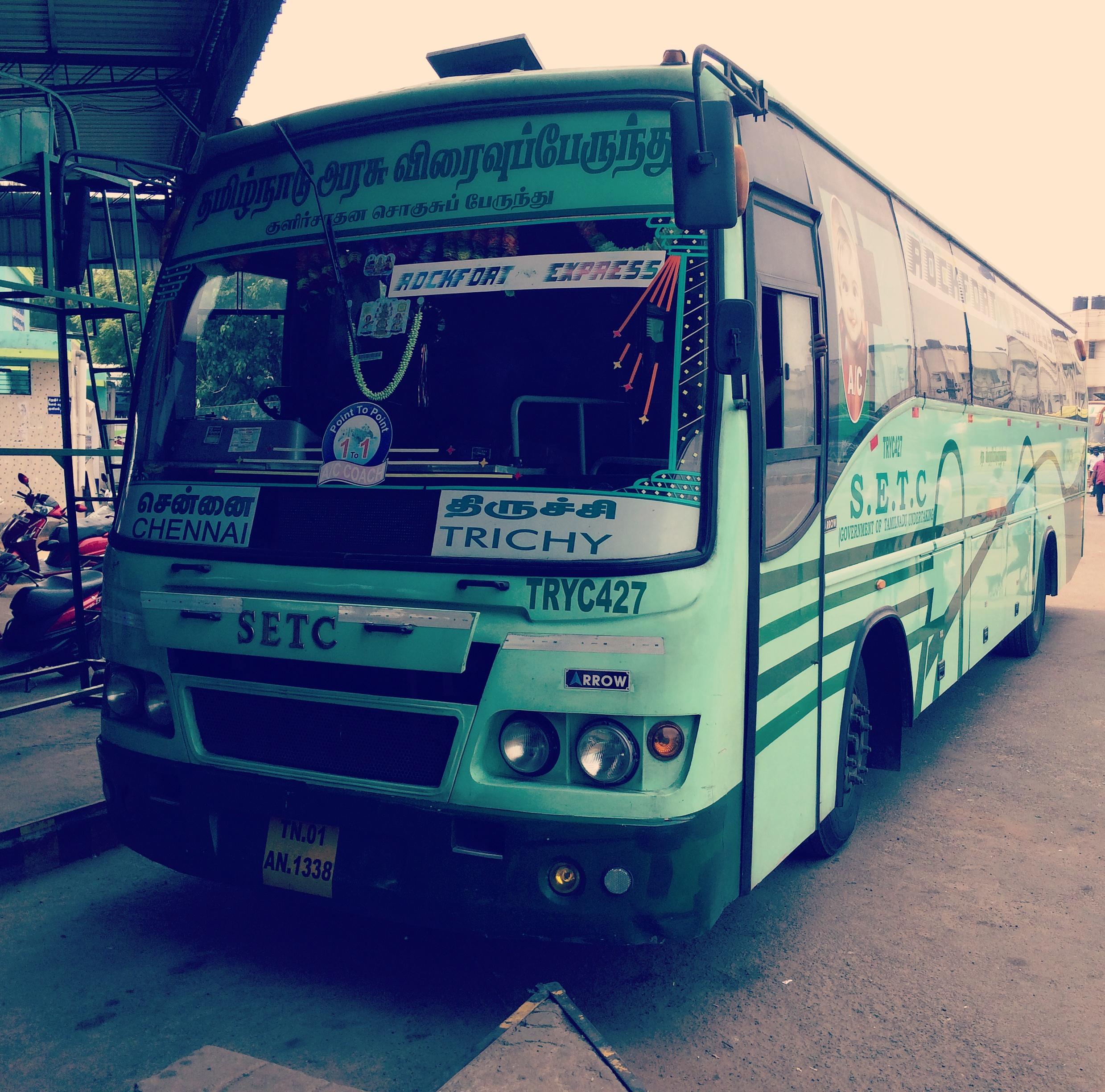TNSTC SETC Coimbatore to Chennai