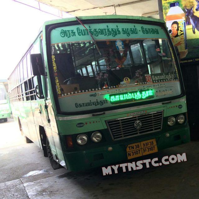Coimbatore to Chennai TNSTC