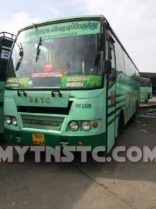 SETC Coimbatore to Chennai AC