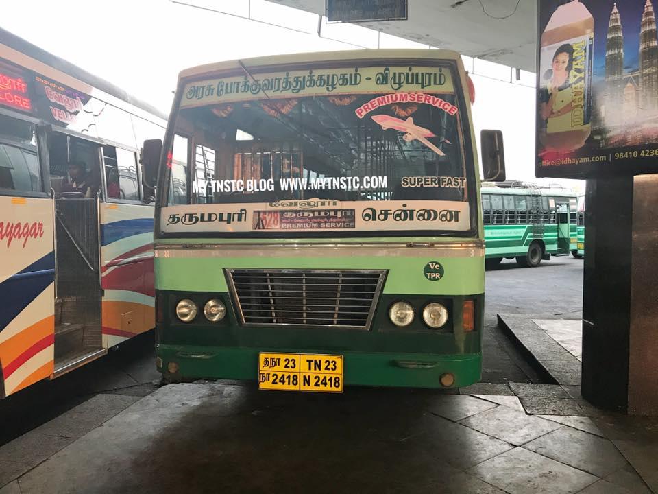 Chennai To Dharmapuri TNSTC Express