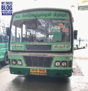 Trichy To Chennai 405 UD TNSTC TN32 N4169