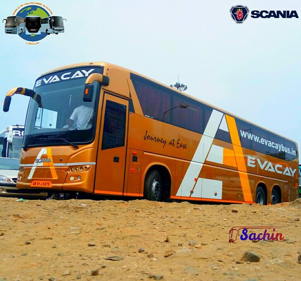 Evacay Bus Service From Karunya Nagar Coimbatore To Trivandrum