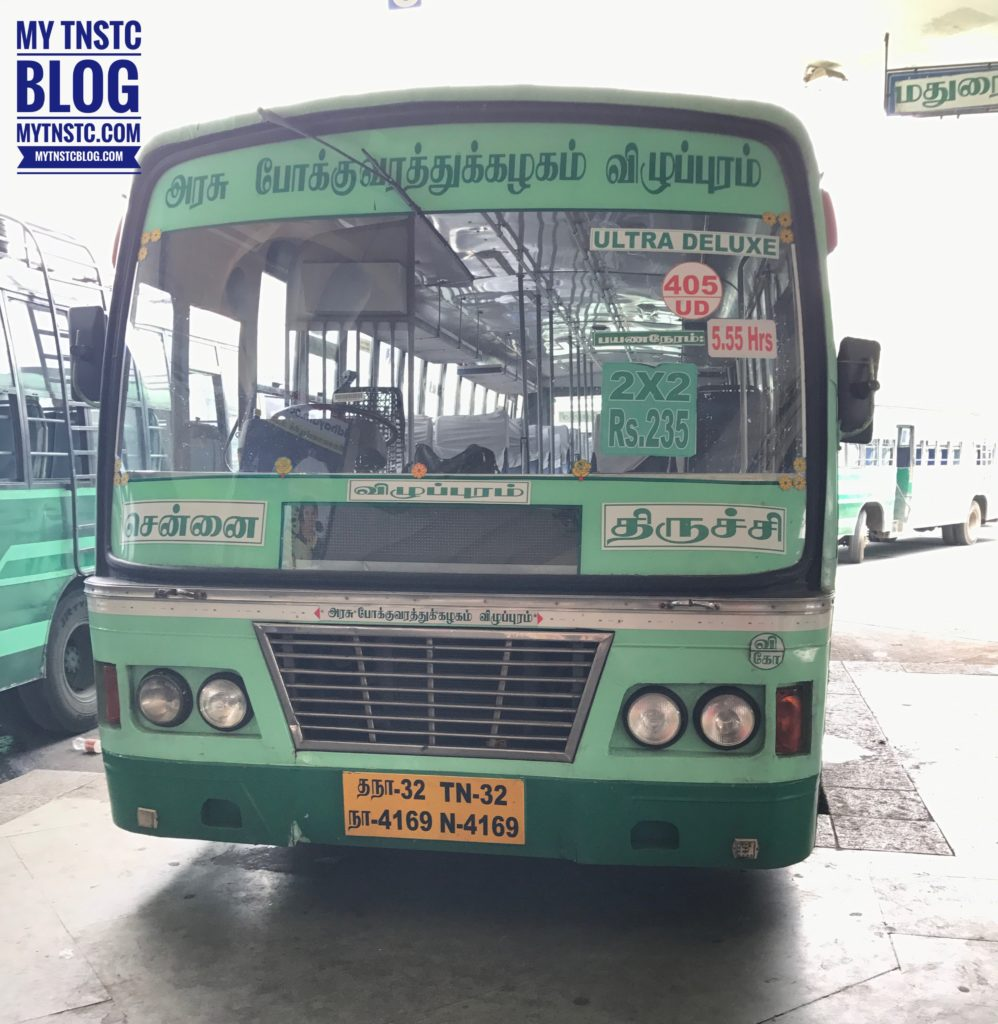 Chennai To Trichy SETC TNSTC Bus Timings