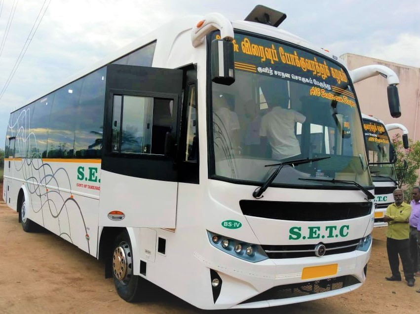 Nagercoil To Bangalore SETC AC Bus Service 887 AS Fare Rs.1400