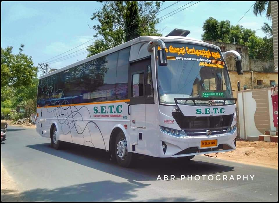 SETC Bus Timings From Nagercoil