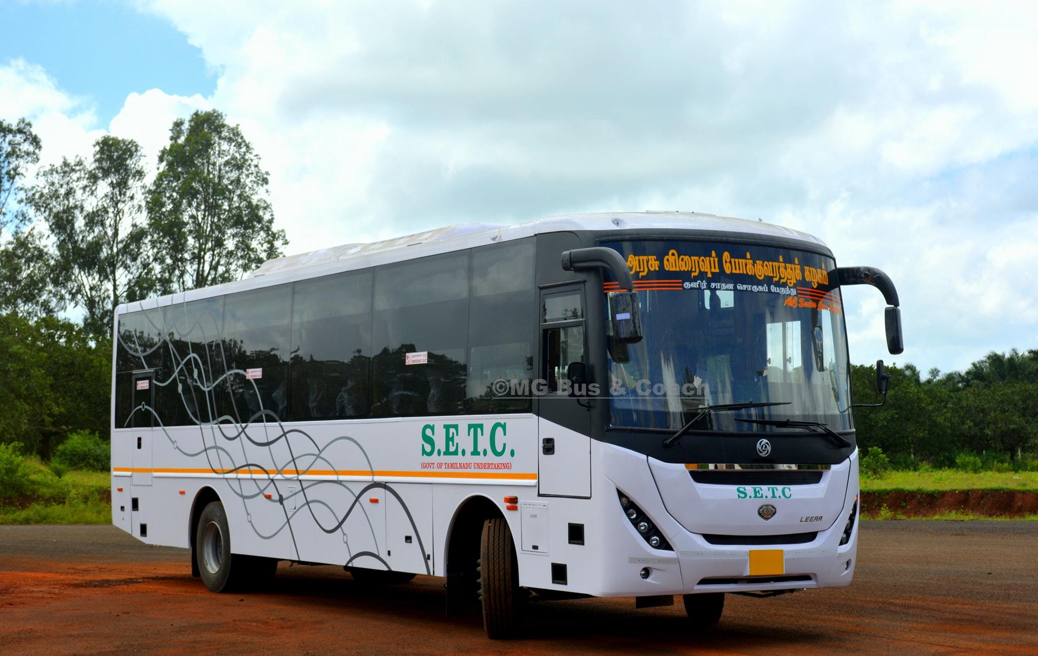 SETC AC Seater Cum Sleeper Bus Timings From Chennai to Madurai