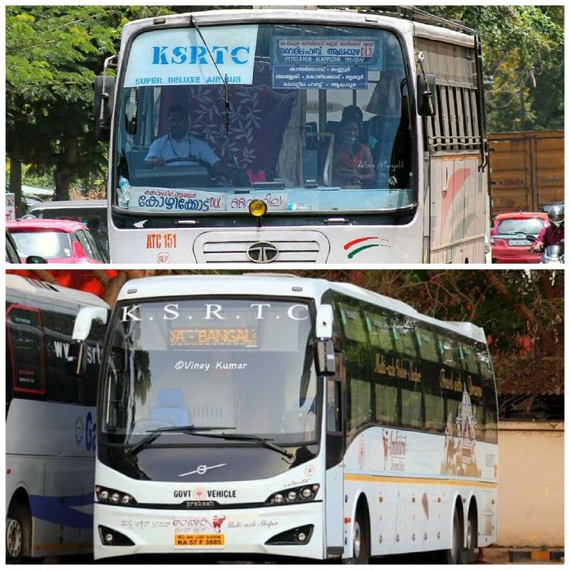 Karnataka RTC vs Kerala RTC Seating Arrangements For COVID19 Onam Specical Bus Service