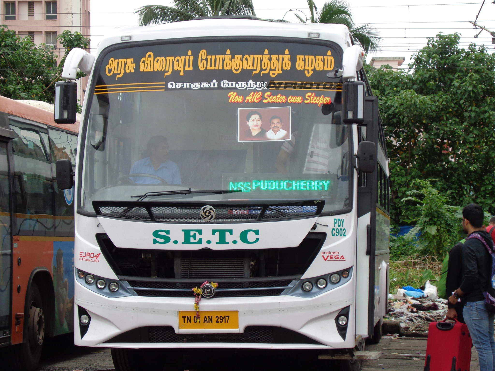 Puducherry Government Permits TNSTC SETC To Operate Via Puducherry To Tamilnadu