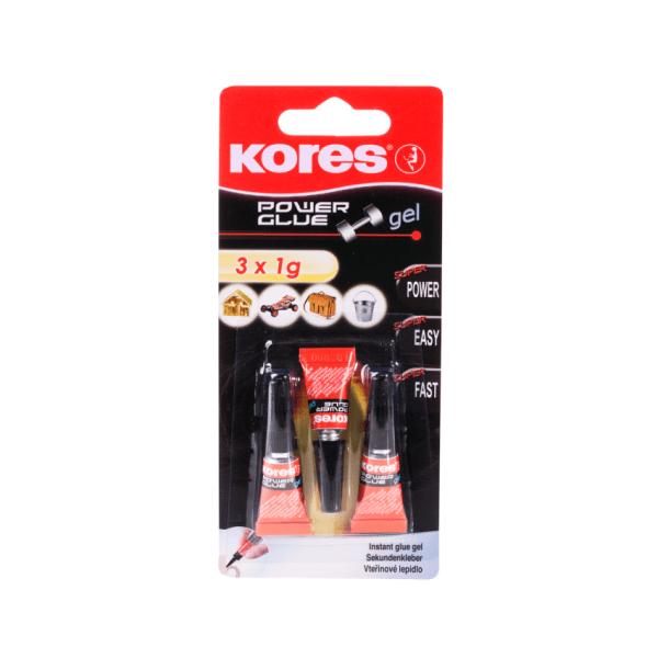 Produktbild von Kores Power Glue Gel Sekundenkleber