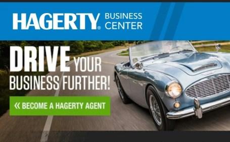 Hagerty classic car insurance company