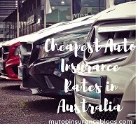 cheapest auto insurance rates in Australia