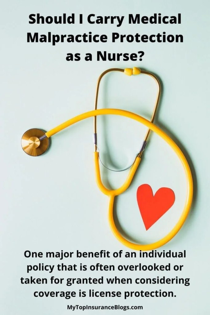 Professional liability insurance coverage for nurses - Medical malpractice protection