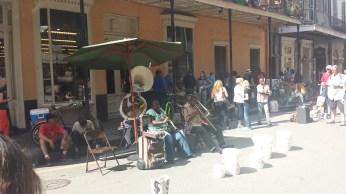 Performance on Royal St