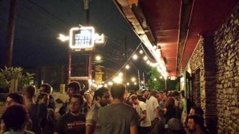 Full patio at Whitehorse