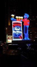 PBR Sign in Old Vegas