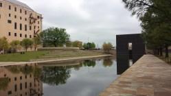 Reflecting pool inside