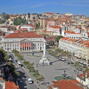 Rossio Lisbonne