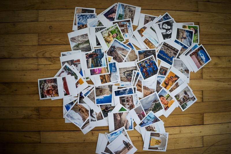 Jeune Cheerz - Imprimez vos photos de voyage façon Polaroïd QQ-21