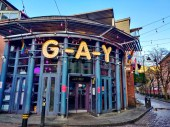 Canal Street Gay village Manchester