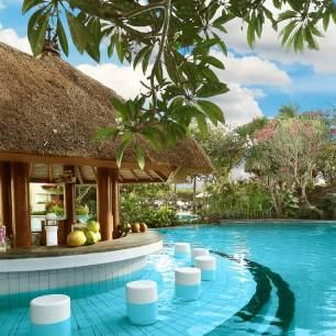piscine bar en république Dominicaine